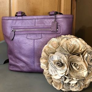 Coach Lilac Penelope Purse